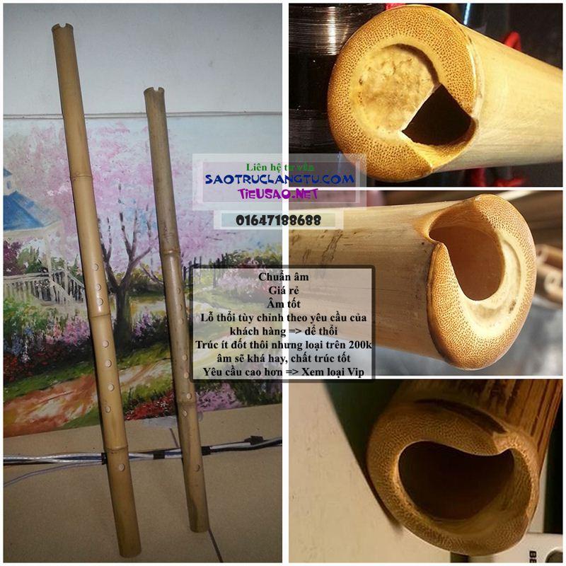 Tiêu trúc Việt chuẩn giá rẻ: tiêu bát khổng - tiêu 6 10 lỗ