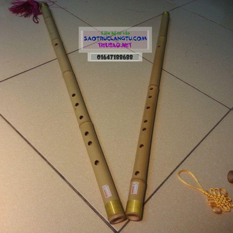 Sáo Fa trầm (F4) trúc nứa - sáo tone Fa trầm