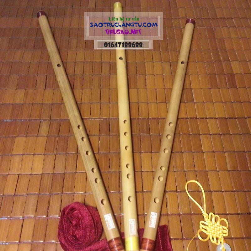 Sáo Si giáng (Bb4) trúc nứa - sáo tone Sib